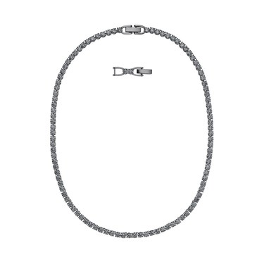 Swarovski Tennis Deluxe Black Necklace   - Click to view larger image