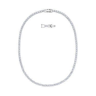 Swarovski Tennis Deluxe All Around Necklace  - Click to view larger image