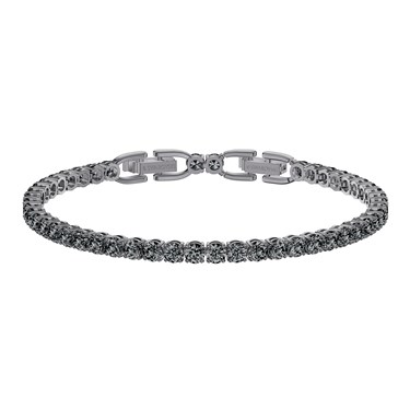 Swarovski Tennis Deluxe Grey Bracelet   - Click to view larger image
