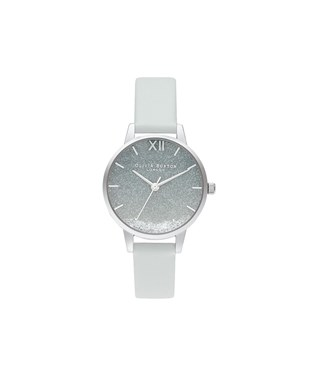 Olivia Burton Under The sea Wishing Wave Grey Watch  - Click to view larger image