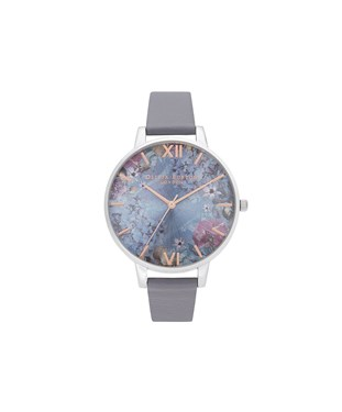 Olivia Burton Under The sea Navy + Silver Watch   - Click to view larger image