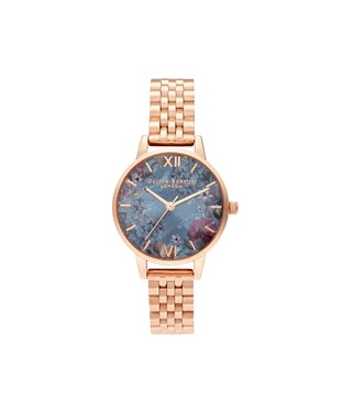 Olivia Burton Under The sea Rose Gold Bracelet Watch  - Click to view larger image