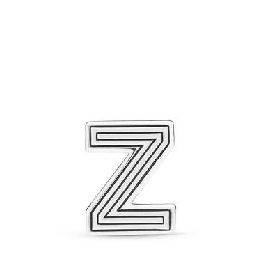 Pandora  Reflexions Letter Z Clip Charm  - Click to view larger image