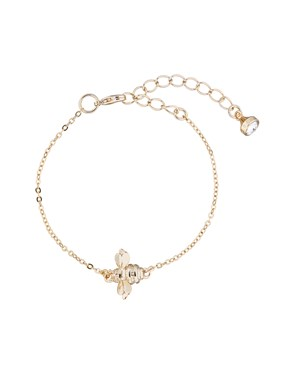 Ted Baker Gold Bumble Bracelet   - Click to view larger image