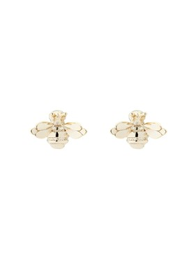 Ted Baker Gold Bumble Earrings   - Click to view larger image