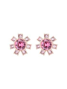 Ted Baker Rose Gold + Pink Clockwork Earrings   - Click to view larger image