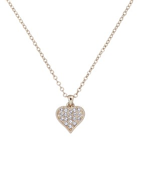 Ted Baker Gold Hidden Heart Necklace  - Click to view larger image