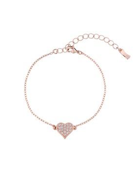 Ted Baker Rose Gold Hidden Heart Bracelet   - Click to view larger image