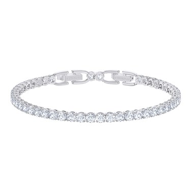 Swarovski Tennis Deluxe Silver Bracelet   - Click to view larger image