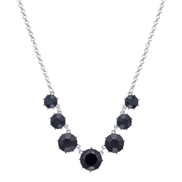 August Woods Black Dusk Circle Necklace   - Click to view larger image