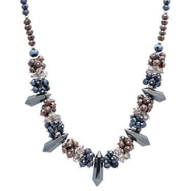 August Woods Midnight Power Beaded Necklace    - Click to view larger image