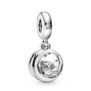 Pandora Always by Your Side Owl Charm  - Click to view larger image