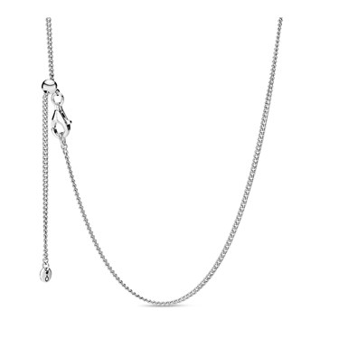 Pandora Curb Chain Necklace  - Click to view larger image