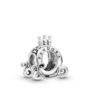 Pandora Polished Crown Carriage Charm  - Click to view larger image