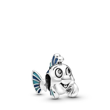 Pandora Disney The Little Mermaid Flounder Charm  - Click to view larger image