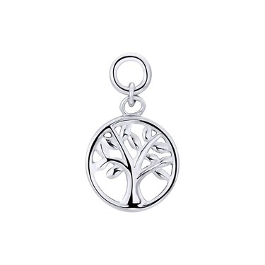 Storie Silver Tree Of Life Pendant Charm   - Click to view larger image