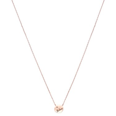 Argento Rose Gold Believe Necklace  - Click to view larger image