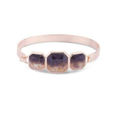 August Woods Rose Gold Divine Bangle  1