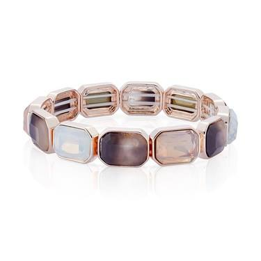 August Woods Rose Gold Divine Stretch Bracelet   - Click to view larger image