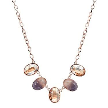 August Woods Rose Gold Divine Necklace   - Click to view larger image