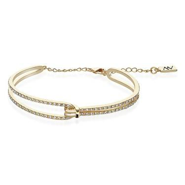August Woods Gold Sparkle Twist Bracelet  - Click to view larger image