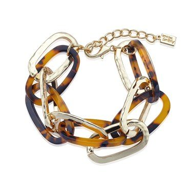 Dirty Ruby Gold Tortoiseshell Bracelet   - Click to view larger image
