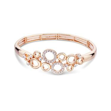August Woods Rose Gold Mini Circle Bracelet    - Click to view larger image