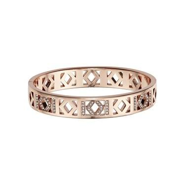Karl Lagerfeld Rose Gold Karl Bangle   - Click to view larger image