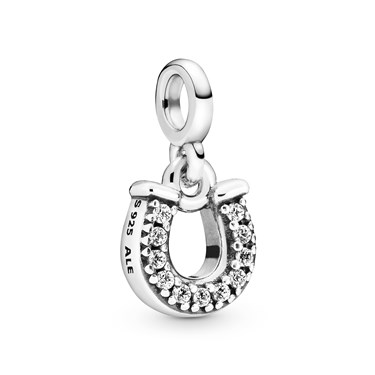 Pandora My Lucky Horseshoe Charm   - Click to view larger image