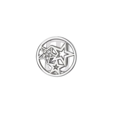 Karma Silver Open Star Charm  - Click to view larger image