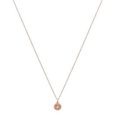 Argento Rose Gold November Halo Necklace   - Click to view larger image