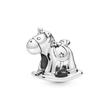 Pandora Bruno the Unicorn Rocking Horse Charm  - Click to view larger image