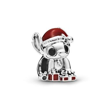 Pandora Disney Stitch Christmas Charm  - Click to view larger image