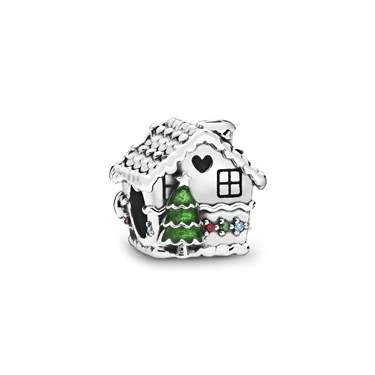 Pandora Gingerbread House Charm  - Click to view larger image