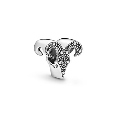Pandora Sparkling Aries Zodiac Charm  - Click to view larger image