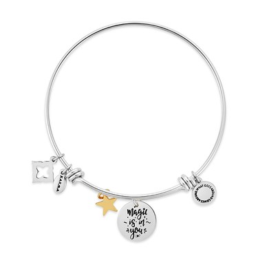 Karma Magic Is In You Silver Bangle  - Click to view larger image