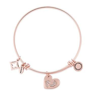 Karma TinyLife Rose Gold Bangle   - Click to view larger image