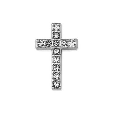 Karma Silver Cross charm   - Click to view larger image