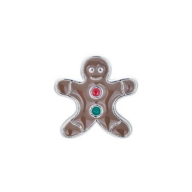 Karma Gingerbread Man Charm  - Click to view larger image