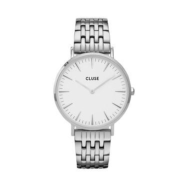 CLUSE LaBoheme Multi-Link Silver Watch   - Click to view larger image