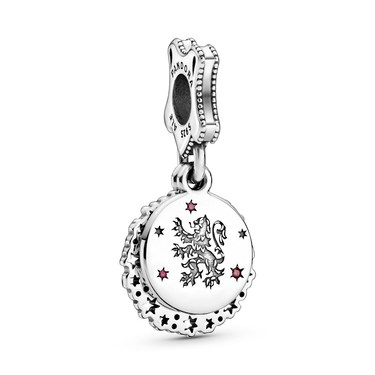 Pandora Harry Potter Gryffindor Drop Charm  - Click to view larger image
