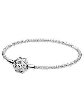 Pandora Limited Edition Snowflake Mesh Bracelet   - Click to view larger image