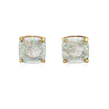 Kate Spade New York Mini Opal Glitter Earrings  - Click to view larger image