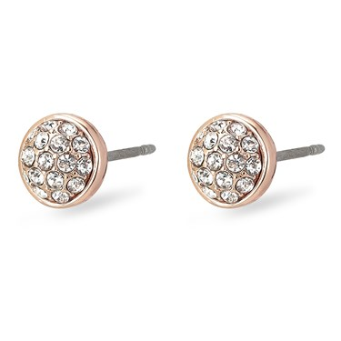 Pilgrim Classic Rose Gold Heather Earrings  - Click to view larger image
