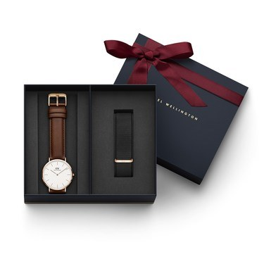 Daniel Wellington Classic St Mawes 40mm Watch Set   - Click to view larger image