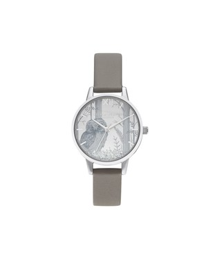Olivia Burton Vegan Owl Snow globe Watch   - Click to view larger image