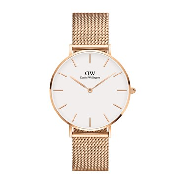 Daniel Wellington Petite 36mm Melrose Rose Gold Watch  - Click to view larger image