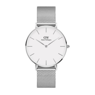 Daniel Wellington Petite 36mm Sterling Silver Watch  - Click to view larger image
