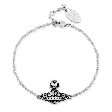 Vivienne Westwood Antique Odelina Orb Bracelet  - Click to view larger image