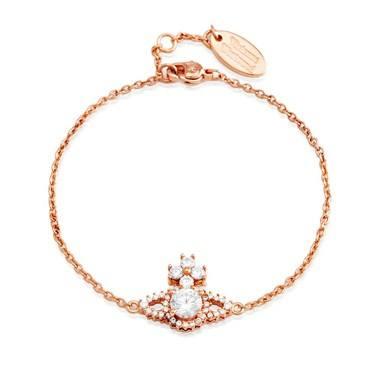 Vivienne Westwood Rose Gold Valentina Bracelet  - Click to view larger image